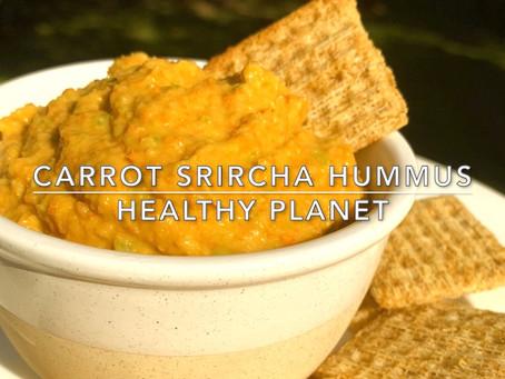 Vegan Sriracha Hummus