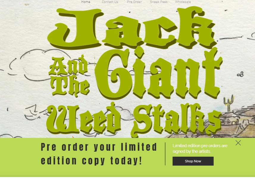 Jack and the Giant Weed Stalks