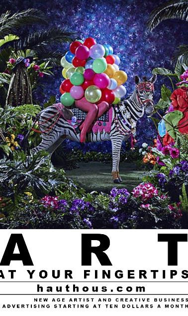 Haut Hous Online Art Magazine Flyer 2018