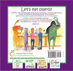Chomp the Chimpanzee | Healthy Planet Children's Books