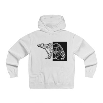 Black and white hoodie | Combined by Imani Dumas