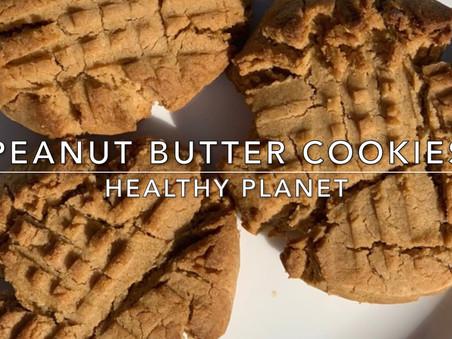 Amazingly Vegan Peanut Butter Cookies