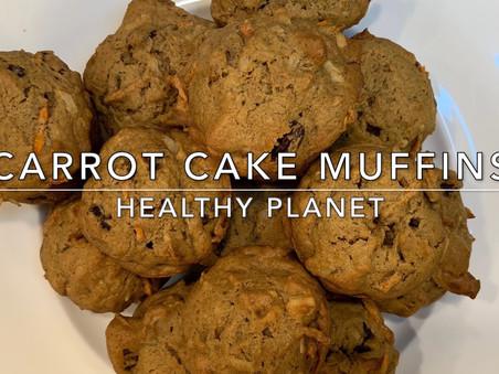 Carrot Cake Vegan Muffins