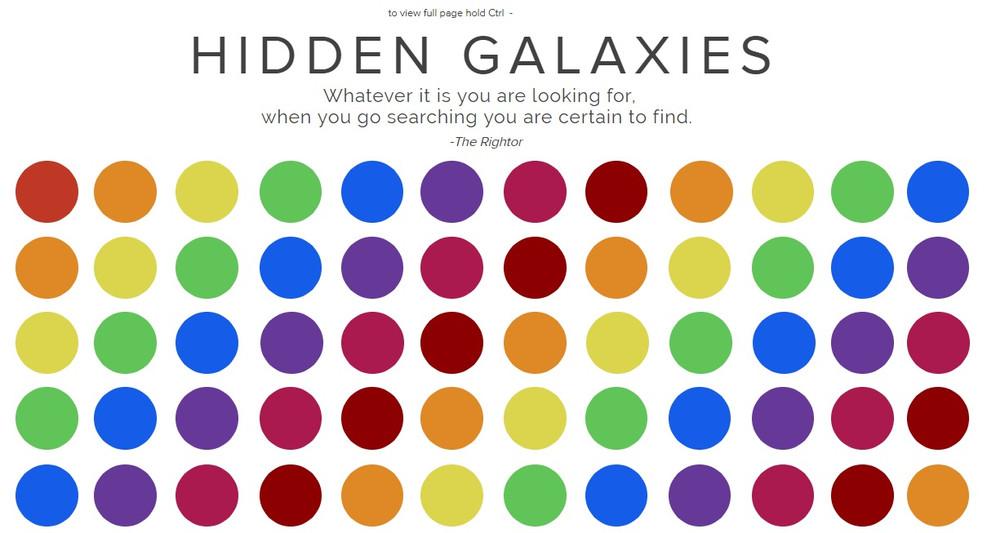Hidden Galaxies