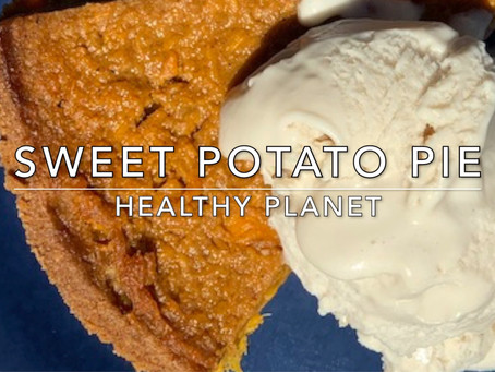 The Original Vegan Sweet Potato Pie