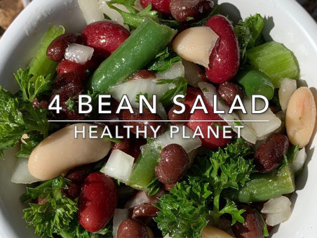 4 Bean Vegan Salad Recipe