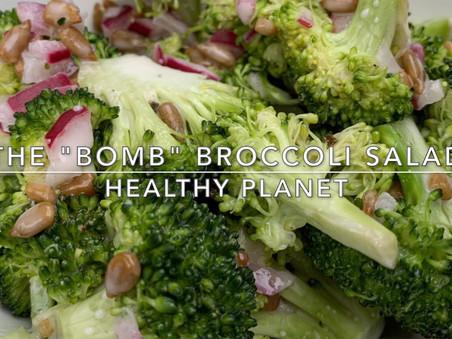 Grandma's Vegan Broccoli Salad