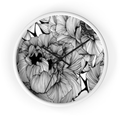 Black and white clock | Combined by Imani Dumas