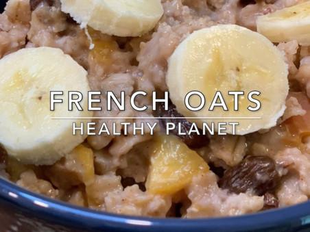 French Oats Simple Vegan Breakfast