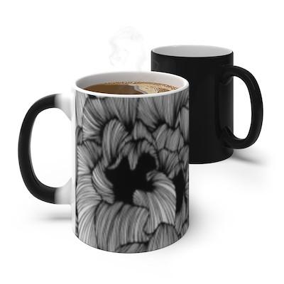 Black and white mug | Combined by Imani Dumas