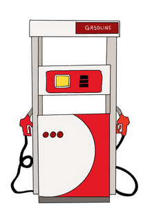 Modern Gas Pump_Color
