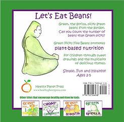Green Eats 5 Beans | Healthy Planet Children's Books