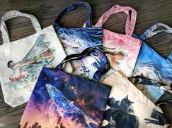 Yuumie Tote Bags