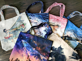 Yuumie Tote Bags