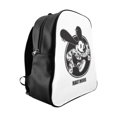 Black and white backpack | Combined by Imani Dumas
