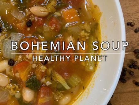 Bohemian Soup Vegan Style
