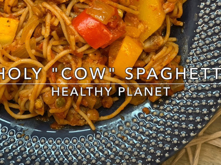 Meat Free Spaghetti with Lentils