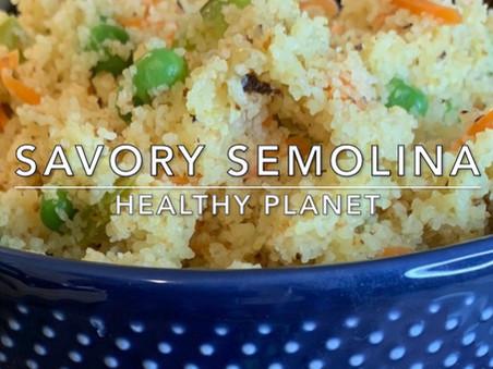Vegetable Semolina
