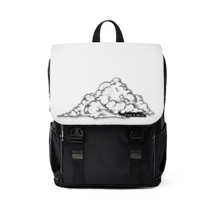 Black and white backpack   Combined by Imani Dumas