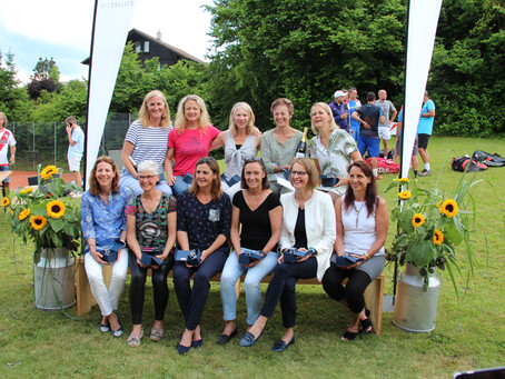 Erfolgsmeldung der 40+ Damen-Mannschaft des Tennisclub Uster