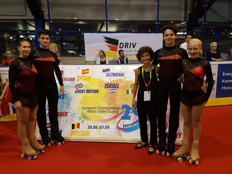 Rollkunstlauf Europameisterschaft in Harsefeld (Deutschland)