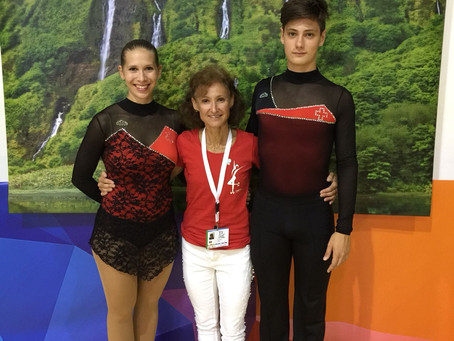 Cornelia Müller und Janick Wiesli vom RSCU an Europameisterschaft auf den Azoren