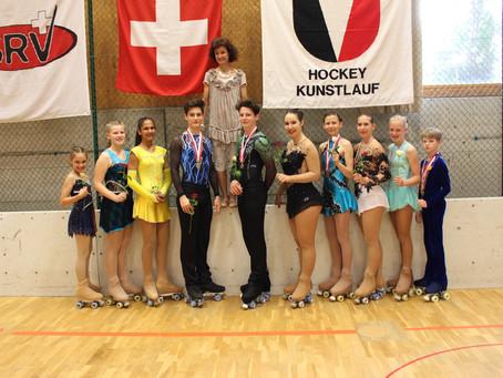 Rollkunstlauf Schweizermeisterschaft 2019 in Basel