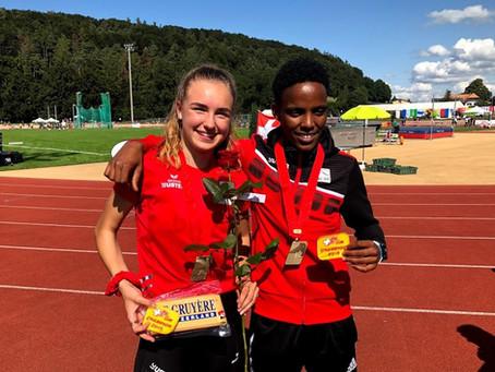 Medaillenregen für Lilly Nägeli, Céline Buchser und Abdi Salam Ali an den Nachwuchs-Schweizermeister