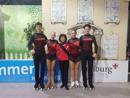 Rollkunstlauf Internationaler Deutschland Pokal in Freiburg i.Br.