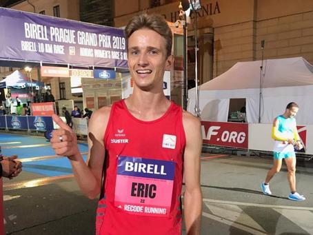 Eric Rüttimann läuft in Prag sensationelle 28.58 Min. über 10 km