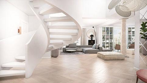 wnętrza domu w Warszawie, interiors of the villa in Warsaw