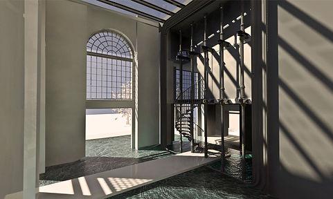 new interior design of the old factory, nowy projekt wnętrza w starej fabryce
