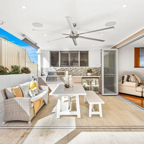 Shell Cove outdoor living