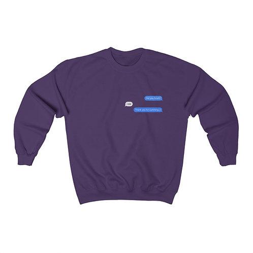 Courteous Convo Crewneck Sweatshirt (Unisex Heavy Blend™)
