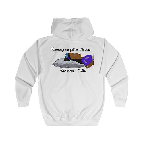 My Prince Will Cum Zip Up Hoodie (Unisex Heavy Blend™)