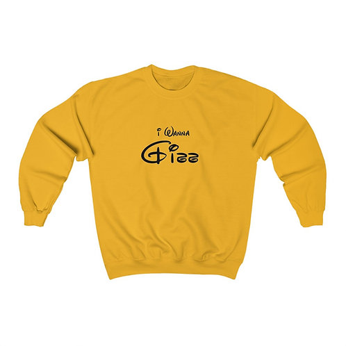 I Wanna J*** Crewneck Sweatshirt (Unisex Heavy Blend™)