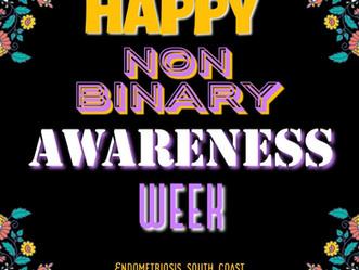 Krystle talks about International Non-Binary Awareness Week