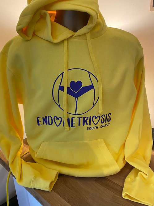 Yellow Awareness Hoody