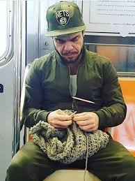 Knitting, not just for your grandma...