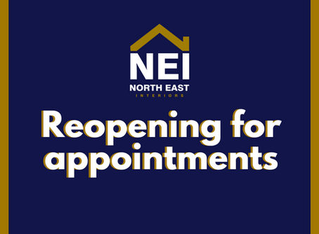 We are reopening for appointments…