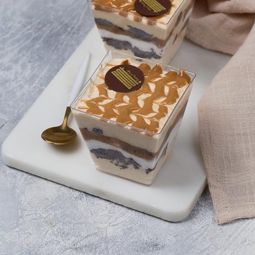 Salted Caramel Brownies Trifle