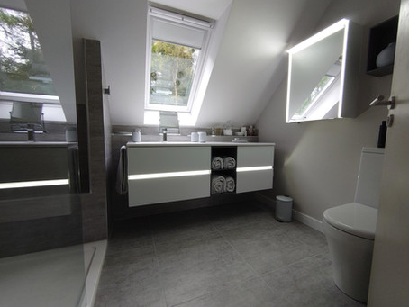 Our projects: The Mutch's new en-suite