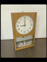 電磁式振り子時計