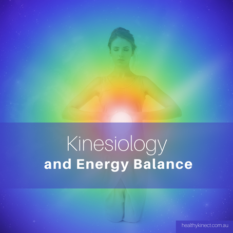Meridians and Kinesiology