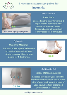 Insomnia A4 3 Awesome Acupressure points