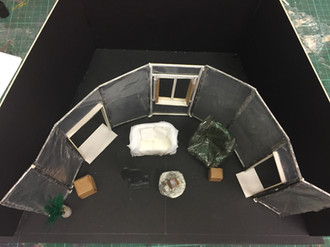 In Vitro Veritas Model Box from Above.