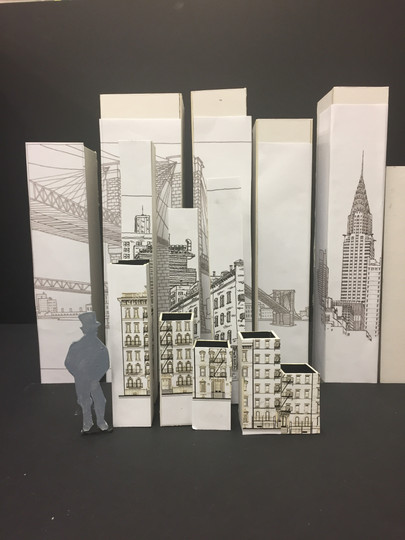 West Side Story- Sketch Model