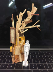 To Kill a Mockingbird- Tree Sculpture