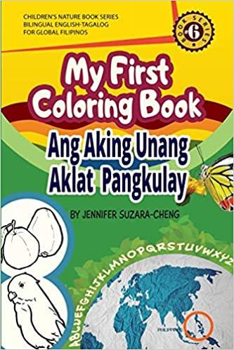 Cover My First Coloring Book/Ang Aking Unang Aklat Pangkulay