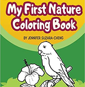 ON SALE NOW: Nature coloring books!